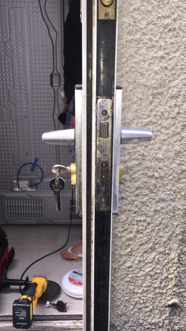 locksmith prices change cylinder